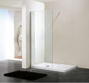 Bathroom 6mm Glass Wetroom Shower Wall Front Panel (BN-WR120) pictures & photos