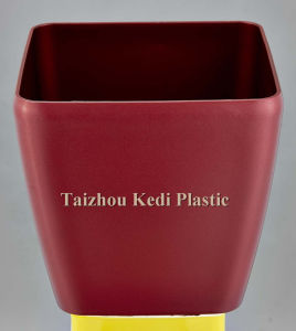 Shiny Dumpy Plastic Flower Pot (KD3841K-KD3845K) pictures & photos