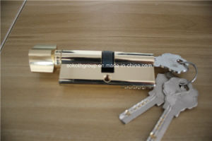 Good Plating High Quality Beauty Knob Cylinder Lock pictures & photos
