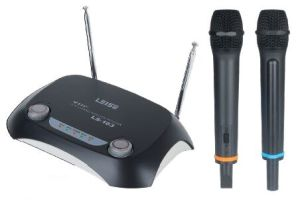 Ls-163 PRO Audio Dual Channels VHF Wireless Microphone pictures & photos