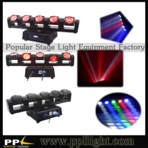 5head Independent Pocket LED Moving Head Beam Light pictures & photos