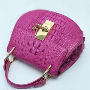 Genuine Crocodile Leather Top Handle Handbag Fashion Women Evening Bag pictures & photos
