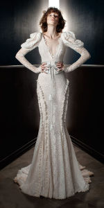 New Fashion Style Elegant Fit and Flare Wedding Dress pictures & photos