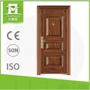 Latest Turkish Style Security Steel Door pictures & photos