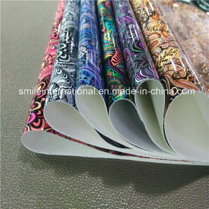 New Design Digital Printing PU Leather pictures & photos