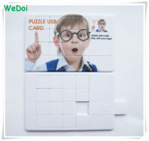 New Hot Selling Puzzle Card USB Flash Drive with Colorful Printing Logo (WY-C03) pictures & photos