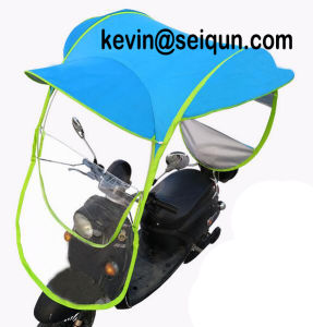 Electric Vehicle Motorcycle Bike Scooter Bicycle UV Rain Sun Canopy pictures & photos