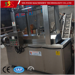 Food Fry Machine with Oil Filter System