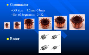 Commutator Used in Automobile Tail Door Motor pictures & photos