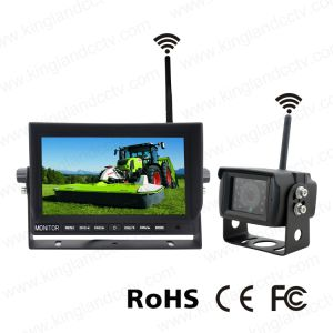 7 Inch Digital Wireless Rear View System with Waterproof IR Camera