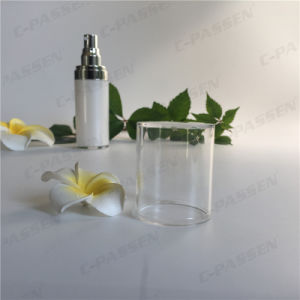 30ml Pearl White Acrylic Lotion Bottle for Cosmetic Packaging (PPC-ALB-053) pictures & photos