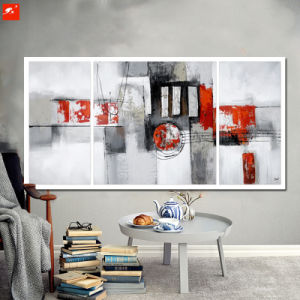 Geomatric Abstract Blocks Oil Painting Set pictures & photos