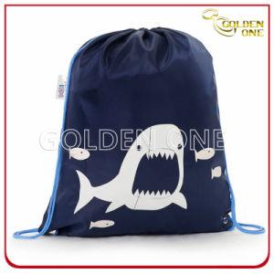 Creative Design Printed Nylon Drawstring Bag pictures & photos