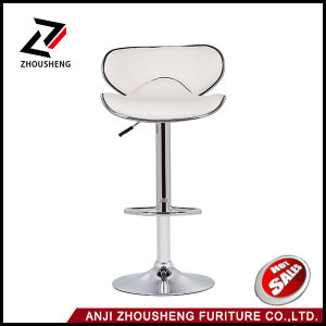 Cheap Modern Colorful Leather Swivel Comfortable Bar Chair Zs-1019 pictures & photos