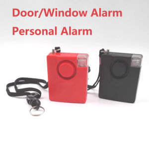 140dB New Arrival Personal Alarm with Flashing Light Wall Bracket and Optional Window Accessory pictures & photos