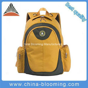 Fashion Yellow Polyester Travel Daypack Baby OEM Diaper Bag pictures & photos