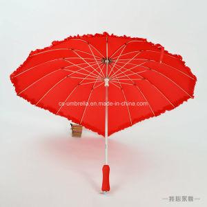 Love Heart Shape Special Umbrella Wedding Umbrella (YS-S007A) pictures & photos