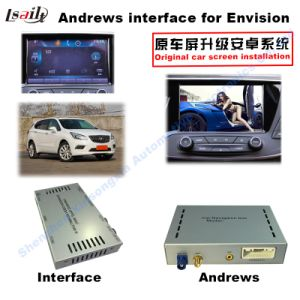 Android GPS Navigation System Video Interface Box for Opel, Buick Regal, Lacrosse, Enclave, Chevrolet Malibu (CUE SYSTEM) Touch Navigation, WiFi, Bt, Mirrorlink pictures & photos
