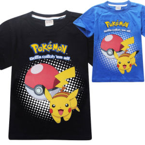 2017 Wholesale  Plain Polyester Kids Boys T Shirt (A621)