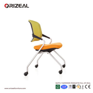 Orizeal Movable Mesh Visitor Chair, Foldable Seat Guest Chair, Modern Office Furniture (OZ-OCV007C) pictures & photos