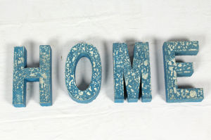 Wall Decorative Wooden Letters Home
