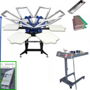 TM-R6k T-Shirt 6-Color Cheap Silk Screen Printer pictures & photos
