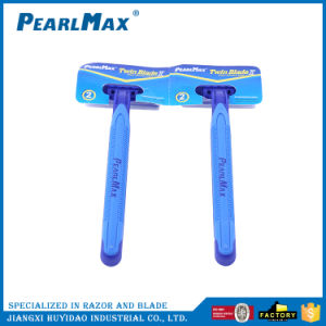 Private Label Razor Blades Twin Blade Shaving Razor pictures & photos