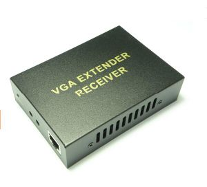 VGA Extender UTP Cat5e/6 with Audio Transmission Max up to 300m pictures & photos
