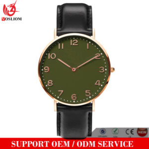 Yxl-744 Factory Quartz Watches Men Custom Leather Watches for Men pictures & photos