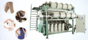 Double Needle Bar Warp Knitting Machine for Knitted Fabric pictures & photos