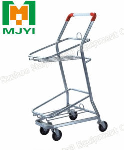 Basket Shopping Trolley Japanese Style Shopping Cart pictures & photos