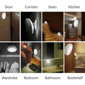 360 Degree Night Lamp, USB Charge LED with Dual Sensor Night Light, Rotating Body Sensor Night Light pictures & photos