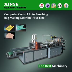 Computer Control Four Line Auto Punching Bag Making Machine pictures & photos
