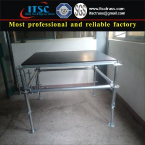 1.22m X 1.22m Steel Portable Stage pictures & photos