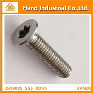 Stainless Steel Countersunk Torx Head Tamper Proof Screw pictures & photos