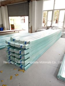 FRP Panel Corrugated Fiberglass/Fiber Glass Roofing Panels C17006 pictures & photos