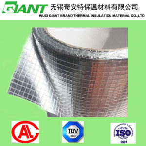 Mesh Aluminium Foil Butyl Rubber Tape Suitable for Lower Temperature pictures & photos