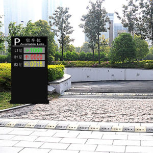 China Intelligent Smart Parking Lot Guidance LED Message Screen pictures & photos