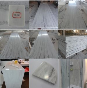 China Manufacturer 12mm Marble White Texture Acrylic Solid Surface pictures & photos