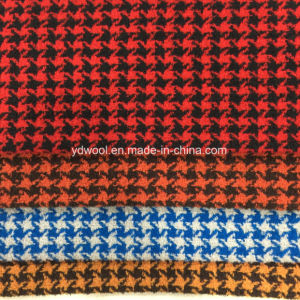 Loop Yarns Houndtooth Wool Fabric Reday pictures & photos