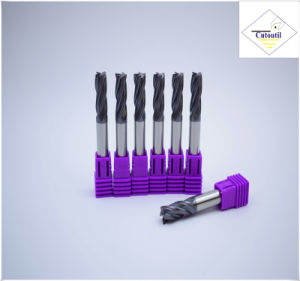 Cutoutil   HRC55 4 Teeth 35° Helix Cut Steel D18 50*100*18  Solid Carbide End Mills Tools pictures & photos