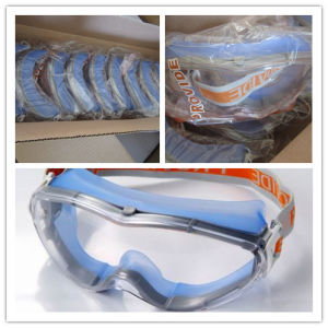PC Lens TPE Frame Safety Goggle (303-4) pictures & photos