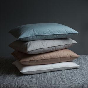 4 Colors Cotton White Goose Down Pillow