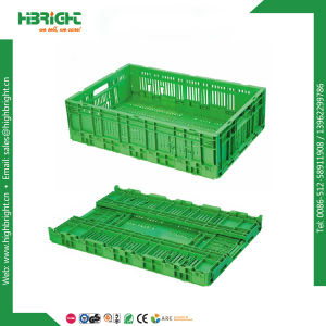 Stackable Plastic Folding Fruit Crate pictures & photos