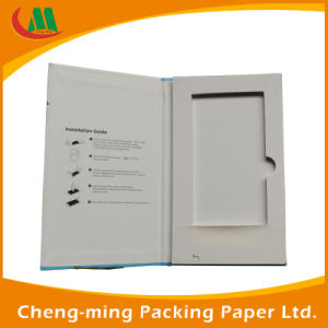 Full Colored Printing Gold Stamping Food Packaging Paper Box for Phone Accessory pictures & photos