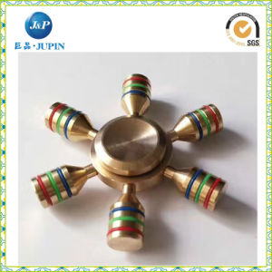 Wholesale 2017 Hot Selling Long-Time Rotating Fidget Spinner Brass Finger Spinner Toy EDC Desk Fidget Spinner (JP-FS004) pictures & photos