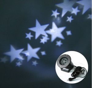 Garden Outdoor Projector LED Christmas Light with White Star for Decoration pictures & photos