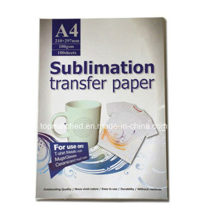 Heat A4 Transfer Paper Sublimation Paper for Heat Transfer Cups Hats Clothes pictures & photos
