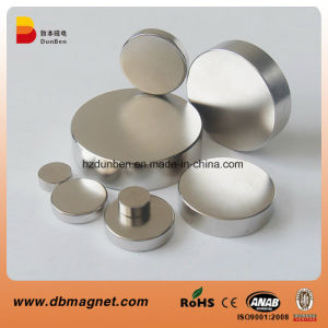 Strong Magnets Nickel Round Rare Earth Neodymium Magnet pictures & photos