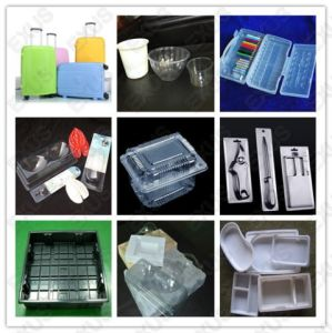 Plastic Blister Food Container Lunch Box Thermo Vacuum Forming Making Machine pictures & photos